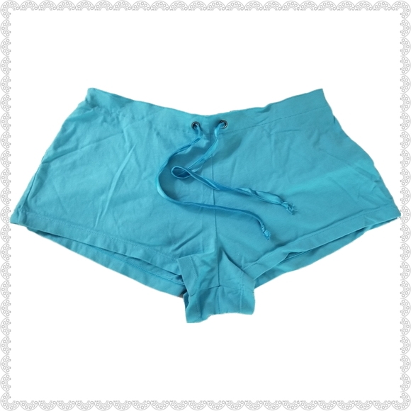 Victoria's Secret Other - Victoria's Secret Cheeky Blue Pajama Shorts XS